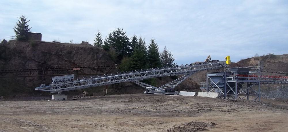 125 ft Radial Stacker by Transco Northwest